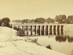 Head of East Nalla Canal, Rohree [Rohri], Scinde.